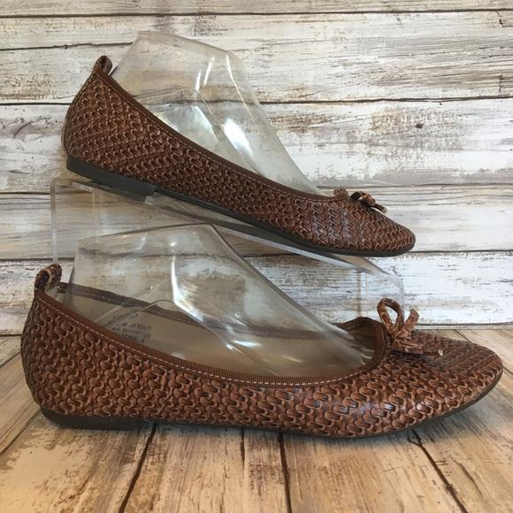 Madeline Stuart Shoes - Madeline Stuart 8.5M Jessup Brown Ballet Flats. f6c8c3a38c